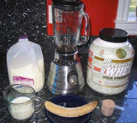 приготовление коктейля