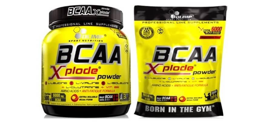 Выгодные преимущества, состав и схема приема BCAA Xplode Powder
