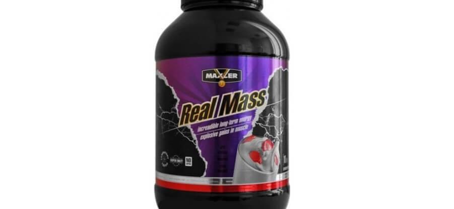 Углеводно-белковый коктейль Real Mass: состав и схема приема