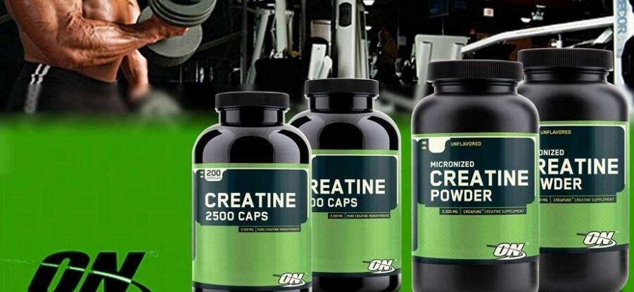 Обзор креатиновых добавок от компании Оптимум Нутришн