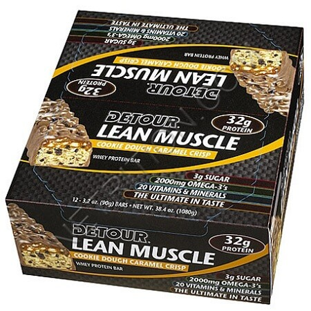 Батончики detour lean muscle цена