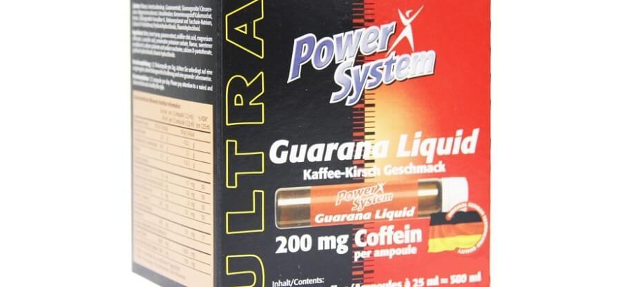 Как правильно использовать энергетик guarana liquid от Пауэр Систем