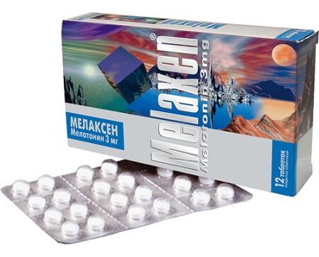 мелаксен в таблетках