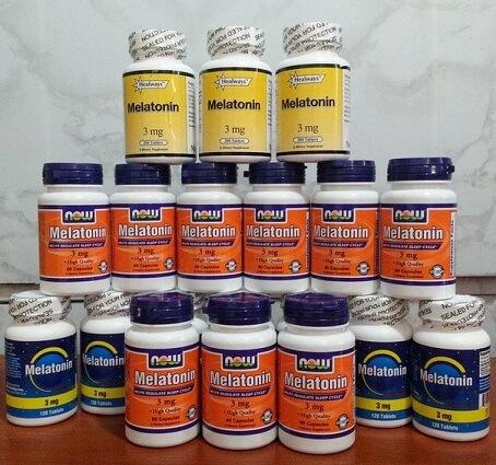 добавки с мелатонином