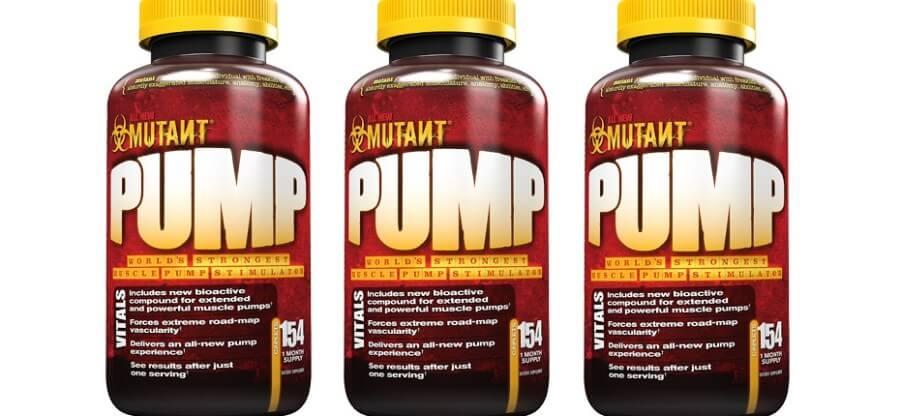 Предтренировочная добавка Mutant Pump для максимального пампа на тренировке