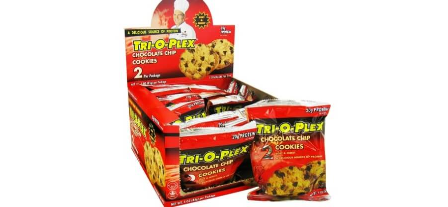Протеиновые печеньки и батончики от компании Tri-O-Plex