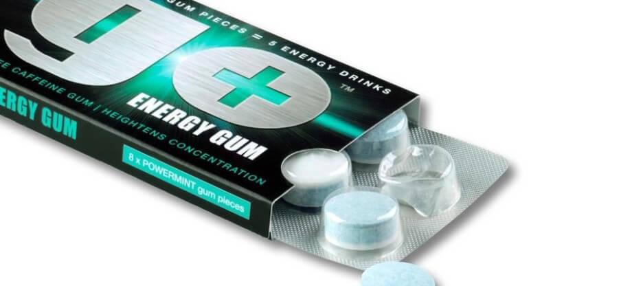 Состав и действие жевательной резинки Go Energy Gum