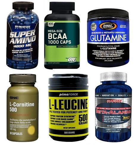 аминокислоты в спортпите