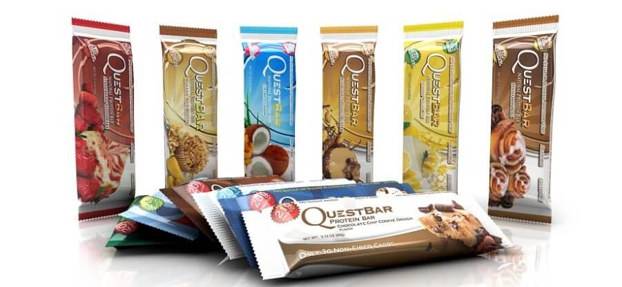 Особенности, достоинства, состав и применение батончиков Quest Bar