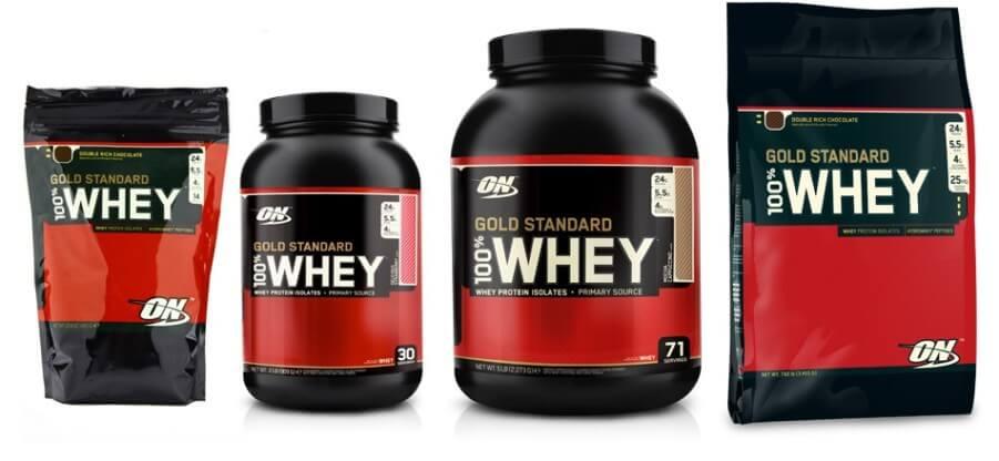 Преимущества и схема применения протеина 100% Whey Gold Standard от ON