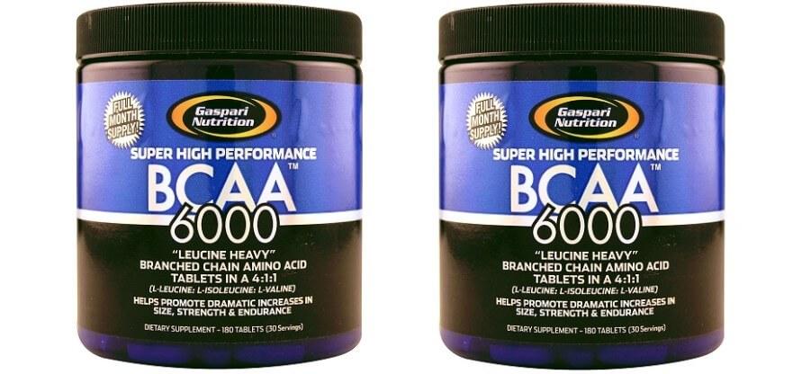 Действие, состав, схема приема и отзывы BCAA 6000 Gaspari Nutrition