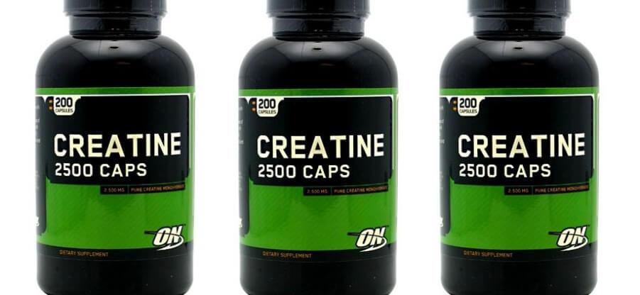 Преимущества и особенности приема Creatine 2500 caps от Optimum Nutrition