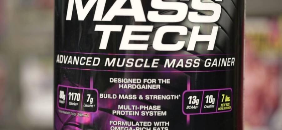 Преимущества, состав и схема приема углеводно-белковой добавки Mass Tech