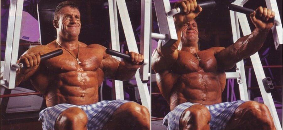 Нюансы выполнения упражнения жим в тренажере для груди