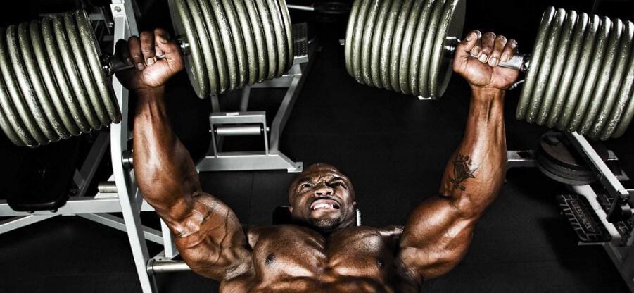 Варианты упражнений для прокачки мышц груди с гантелями