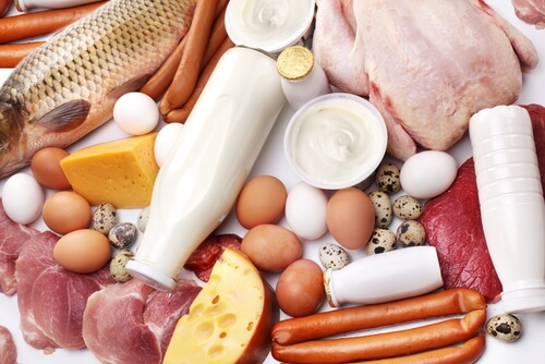 продукты с протеином