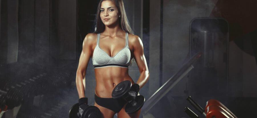Все нюансы тренинга и питания для набора мышечной массы девушкам