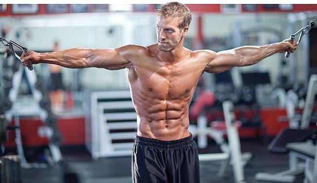 сушка мышц