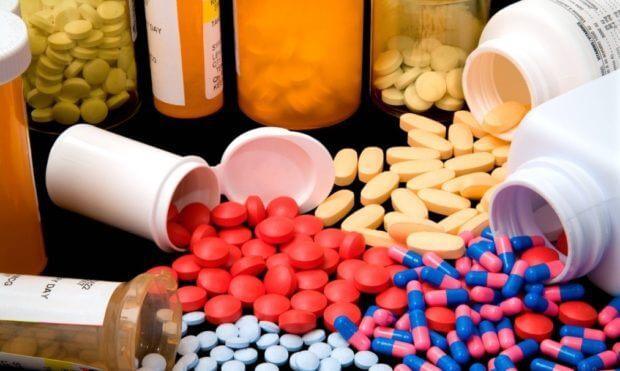 Ассортимент витаминов