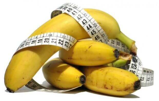 Банан - довольно калорийная ягода