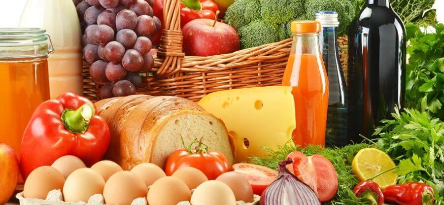 Какие продукты относятся к белкам, жирам и углеводам?