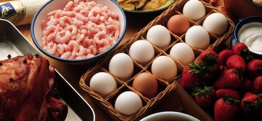 В каких продуктах питания можно найти витамины Е и В в большом количестве?