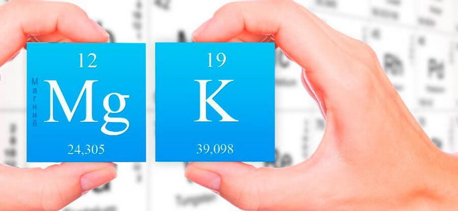 В каких продуктах содержится калий и магний: таблица содержания