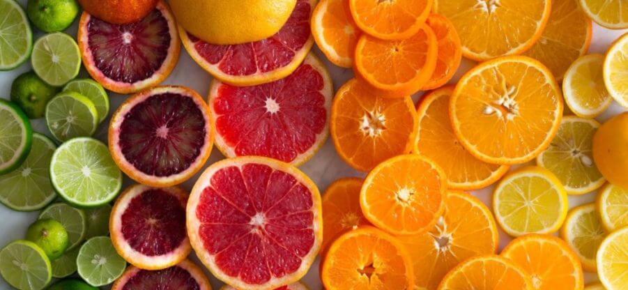 В каких овощах и фруктах содержится витамин С?