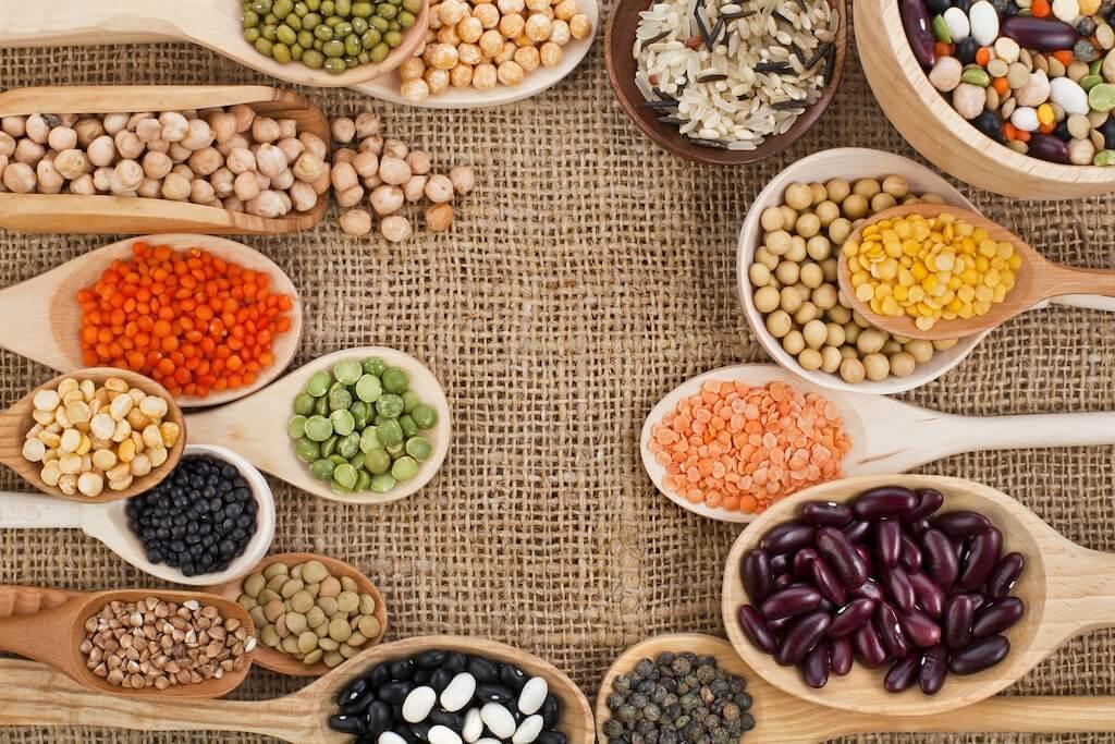 В чем содержится растительный белок