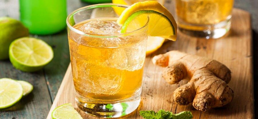 Как сделать напиток из имбиря и лимона: лучшие рецепты для похудения