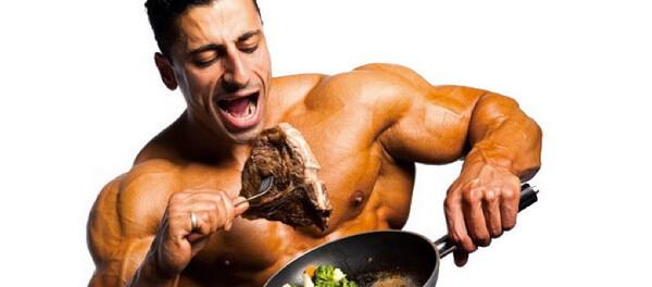 Поедание мяса