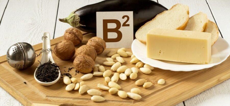 В каких продуктах питания содержится витамин В2 в большом количестве?