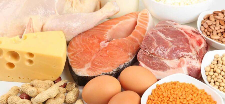 Продукты питания с большим содержанием белка, его суточная норма