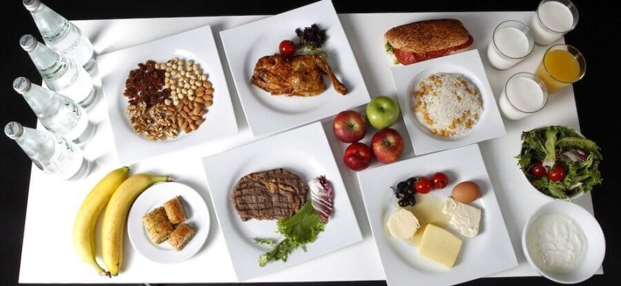 Правильное питание для похудения: меню на один месяц