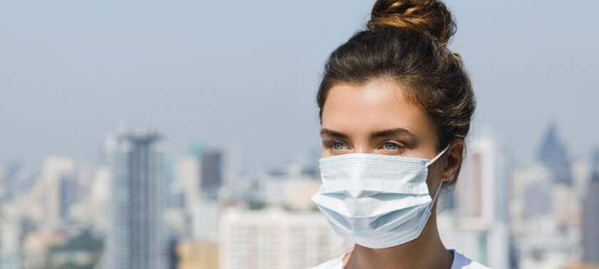 Как надевать и носить одноразовую маску?