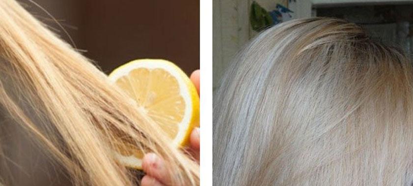 Как можно осветлить волосы без краски?