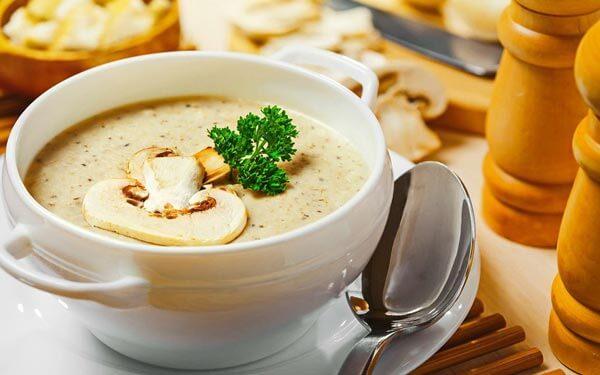 диетический суп пюре из шампиньонов