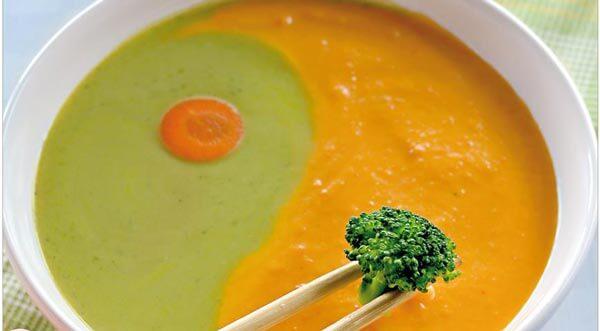 овощной суп пюре диетический