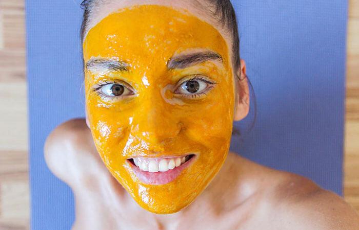 маска из спермы с апельсином