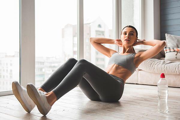 фитнес упражнения дома для талии